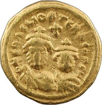 Héraclius et Héraclius Constantin, solidus, Carthage, An 8 = 619-620