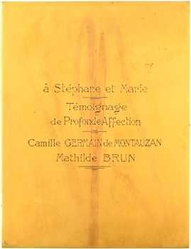 Baudichon (R.) : Immutabilis Amor, noces d'or et d'argent de la famille Germain de Mautauzan, 1908-1933 Lyon