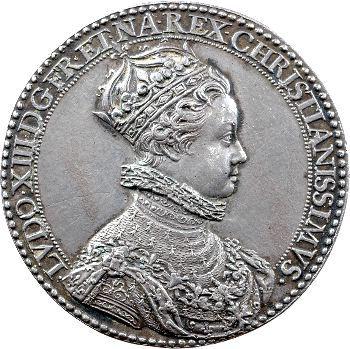 Louis XIII, médaille du sacre à Reims, 1610