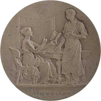 IIIe République, la Caisse d'épargne de Nevers, par Patey, s.d. Paris