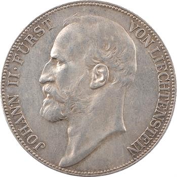 Liechtenstein (principauté du), Jean II, 5 couronnes (kronen), 1900