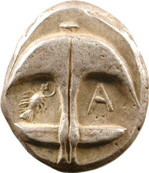 Thrace, drachme, Apollonia Pontica, Ve s. av. J.-C.