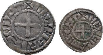 Nevers (comté de), au nom de Louis IV, denier et obole, vers 1050-1100