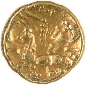 Carnutes, quart de statère à la victoire ailée, c.130-70 av. J.-C