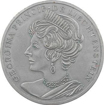 Liechtenstein, essai à l'effigie de Georgina, s.d