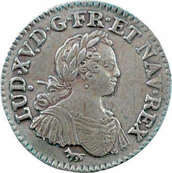 Louis XV, huitième d'écu aux huit L, 1725 Paris