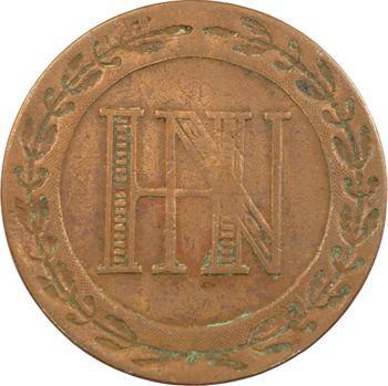 Allemagne, Westphalie (royaume de), Jérôme Napoléon, 5 centimes, 1812 Cassel