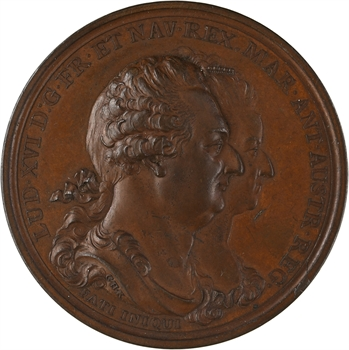 Louis XVI, adieux du Roi à sa famille par Kuchler, 1793 Berlin