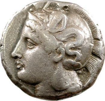 Lucanie, distatère, Thurium, c.400-350 av. J.-C.
