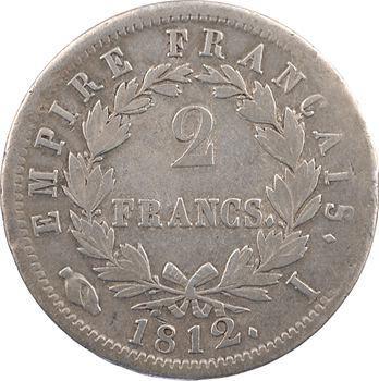 Premier Empire, 2 francs Empire, 1812 Limoges