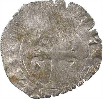 Bretagne (duché de), Jean III ou Jean de Montfort dit le Captif, double tournois, s.d. (c.1341) Nantes