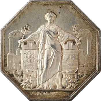 Second Empire, le chemin de fer de Paris à Orléans, par Bovy, 1838 (post.) Paris