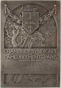 Dropsy (H.) : Chambre syndicale de l'ameublement de Paris, 1926