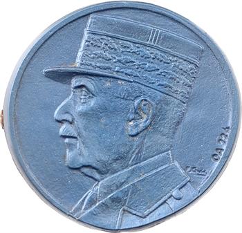 IIe Guerre Mondiale, broche, hommage au Maréchal Pétain, s.d. Paris