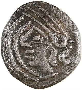 Lingons, denier KALETEDOY, avers au double grènetis, c.80-50 av. J.-C
