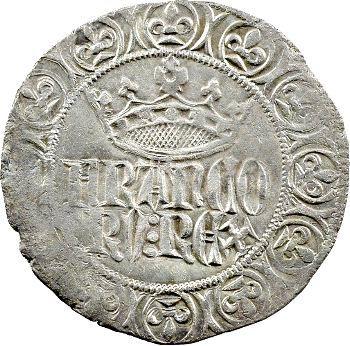 Jean II le Bon, gros à la couronne, 1re émission