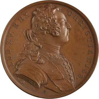 Louis XV, réunion des duchés de Lorraine et de Bar à la France, 1737 Paris