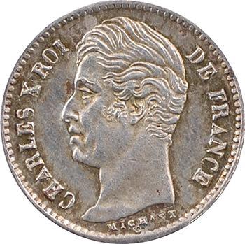 Charles X, 1/4 de franc, 1829 Rouen