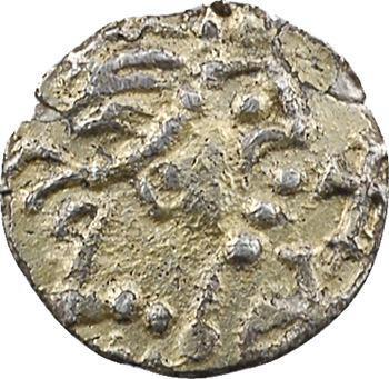 Aquitaine, Banassac (Javols, Lozère), Gauletano monétaire, trémissis (en argent doré), c.650