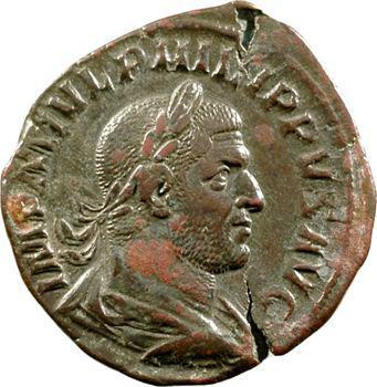 Philippe Ier, sesterce, Rome, 247