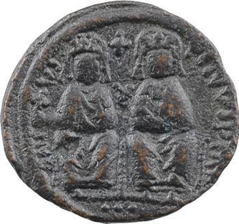 Justin II et Sophie, demi-follis, Cyzique, An X = 574-575