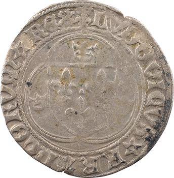 Louis XII, grand blanc à la couronne (BENEDICTVM*), Châlons-en-Champagne