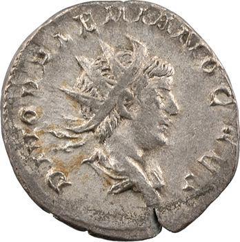 Valérien II, antoninien, Trèves, 259-260 (consécration de Valérien Ier et Gallien)