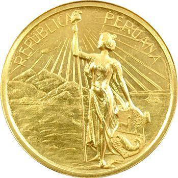 Pérou, Centenaire de l'Indépendance, 1921