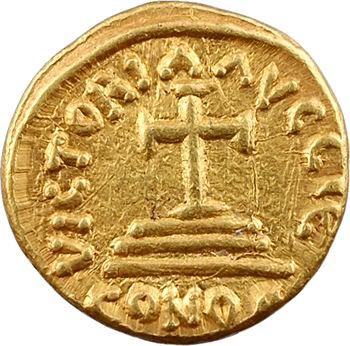 Héraclius et Héraclius Constantin, solidus, Carthage, An 15 = 626-627