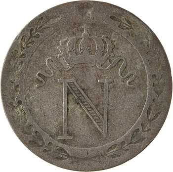 Premier Empire, 10 centimes à l'N couronnée, 1809 Paris