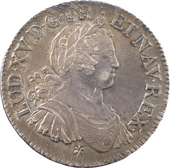 Louis XV, écu aux huit L, 1725 Caen