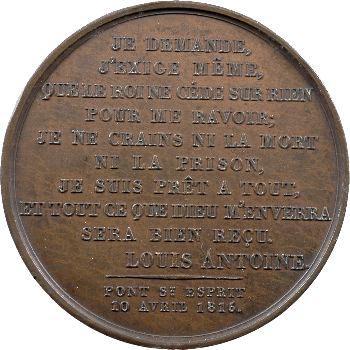 Louis-Antoine d'Artois, duc d'Angoulême, déclaration de Pont-St-Esprit, 1815 Paris