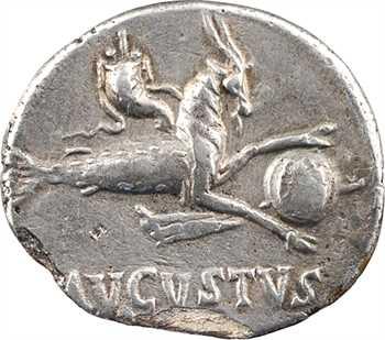 Auguste, denier fourré, Colonia Patricia, 18-16 av. J.-C.