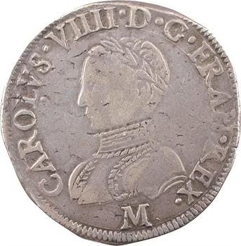 Charles IX, teston 2e type, 1564 Toulouse
