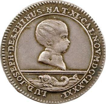 Alsace, Strasbourg, naissance du dauphin Louis-Joseph, 1781