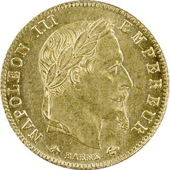 Second Empire, 5 francs tête laurée, 1868 Paris