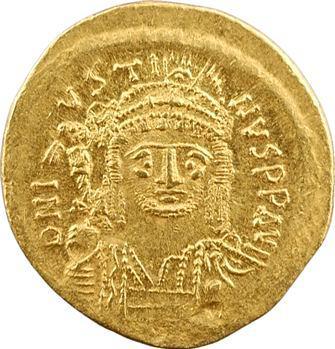 Justin II, solidus, Constantinople, 5e officine, 575-578