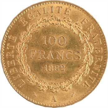 IIIe République, 100 francs Génie, 1882 Paris