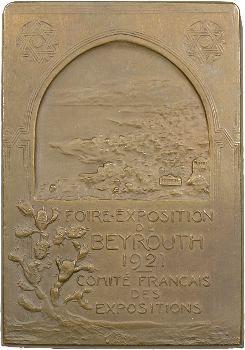 Liban/Syrie, Beyrouth, le Général Gouraud par Henri Nocq, 1923 Paris