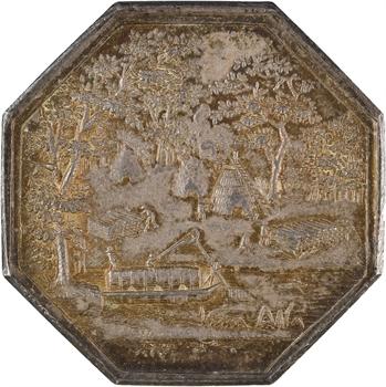 Louis XVIII, commerce de charbon de bois, 1820 Paris