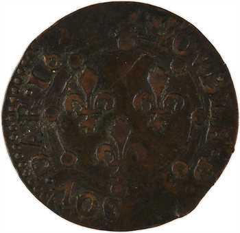 Ardennes, Charleville (principauté de), Charles II de Gonzague, double tournois 23e type, 164[2 ?] Charleville