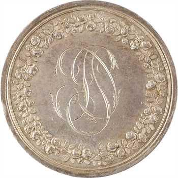 Premier Empire, la Paix de Lunéville, réemployée en médaille de mariage, 1801-1812 Paris