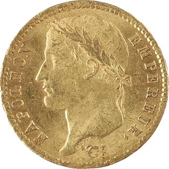 Premier Empire, 20 Francs Empire, 1812 Paris