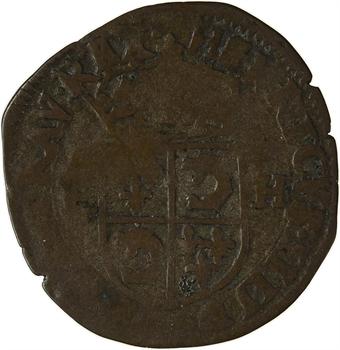 Henri IV, douzain du Dauphiné 2e type, 1593 Grenoble