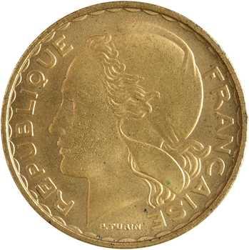 IVe République, essai de 20 francs par Turin, 1950 Paris