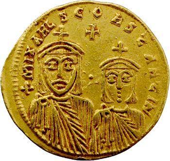 Théophile, solidus, Constantinople, 829-842