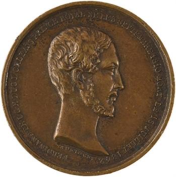 Funérailles du duc Ferdinand d'Orléans, 1842 Paris