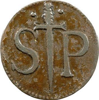 Belgique, Liège, méreau de la collégiale Saint-Paul, 1 patard, s.d