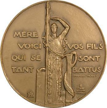 Lavrillier (A.) et Bourdelle : hommage aux Anciens combattants, 1975 Paris