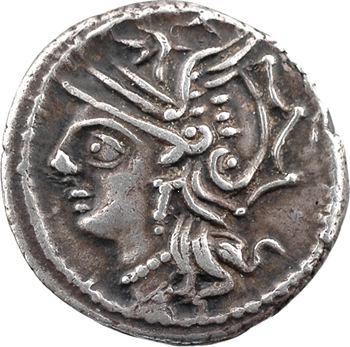 Appuleia, denier, Rome, 104 av. J.-C